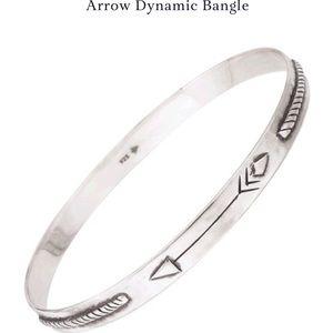 Silpada silver bangle